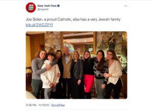 Ashkenazi Jew pretending to be Catholic… seen it before…