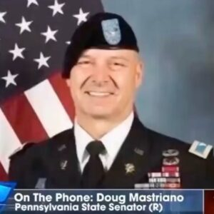 Remember how we were JUST talking about the significance of Doug Mastriano as a