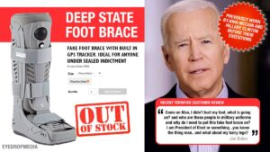 "#Biden ""walking boot "" #BidenWasNotElected"