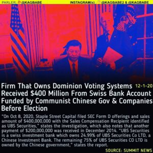 An investigation into SEC filings has revealed that the firm which owns Dominion