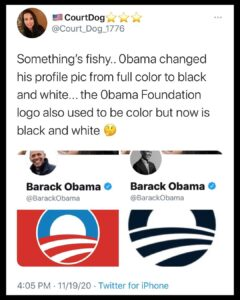 Read more about the article Somethings up. All the Deep State swamp rats are changing their avatars to black