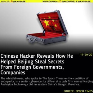 A Chinese hacker has revealed how he conducted cyberattacks on foreign governmen