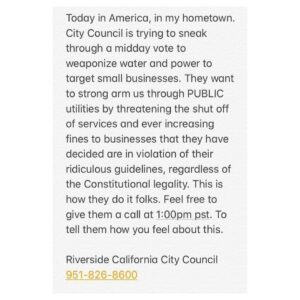 Read more about the article This is happening right now in Riverside, California. These elected officials wh