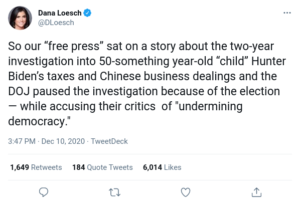 """So our """"free press"""" sat on a story about the two-year investigation into 50-something year-old """"child"""""""