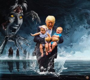 Read more about the article [They] kidnapp, rape, torture, and sacrifice children to Moloch.  Keep wearing t