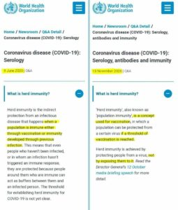WHO's Ministry of Truth rewriting medical facts.  Unbelievable…