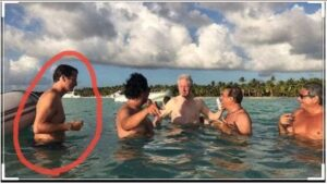 Question for Chief Justice John Roberts: Explain This Photo of Bill Clinton & Epstein Island Connection?