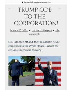 TRUMP ODE TO THE CORPORATION!