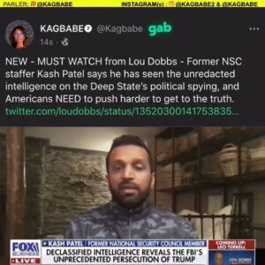 Former NSC staffer Kash Patel says he has seen the unredacted intelligence on the Deep State's political spying, and Americans NEED to push harder to get to the truth.