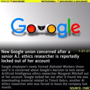 Google employee's newly formed Alphabet Workers Union said it is concerned about
