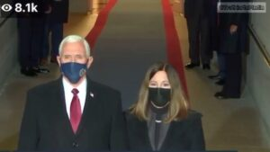 Read more about the article Even the Pence's wore a hue of purple.