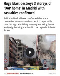 Read more about the article Right on schedule. So what was in Madrid?