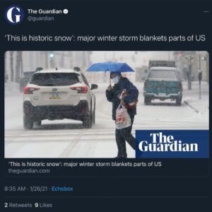 The storm is here  Who is getting snow?
