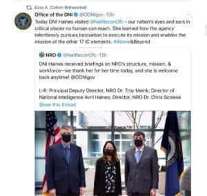 Ezra retweets: China, Intelligence Agencies & 17
