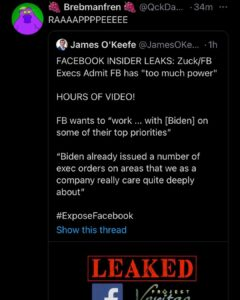 Read more about the article New James okeefe is out.
