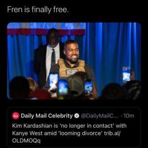 Fren is finally free