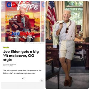 """Read more about the article Wtf >> """"Joe Biden gets a big 'fit makeover, GQ style"""""""