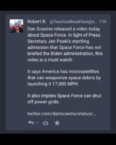 Wictor's Read. Pt2 – So whats w/ Space Force?