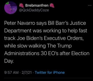 No wonder they couldn't find election fraud, they were too busy working to fast