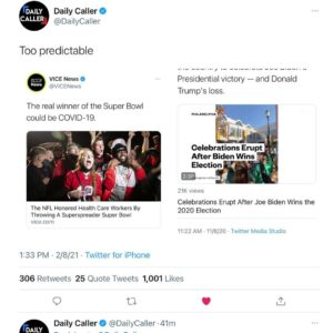 Mainstream Media is too Predictable