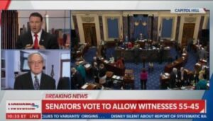 US Senate Votes to Allow Witnesses in Sham Impeachment 55-45 — Five RINOs including Lindsey Graham Join Democrats in Vote