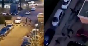 Gun Battle in French Neighborhood