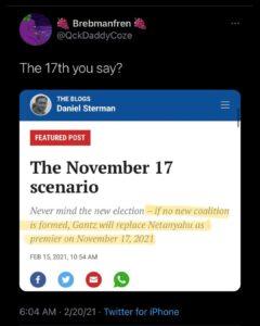 The 17 Scenario[Bibi]