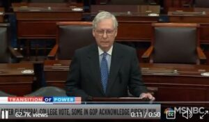 GOP Leader Mitch McConnell Announces Support for Open Borders Radical Merrick Garland for Attorney General