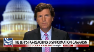 FULL VIDEO: Tucker Carlson compares left's 'disinformation campaign' to QAnon