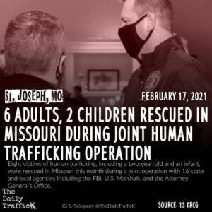 Missouri Attorney General Eric Schmitt announced the joint operation's success s
