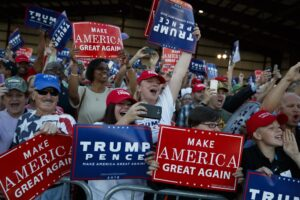 Survey Finds Democrats' Greatest Concern Is Scary Trump Supporters