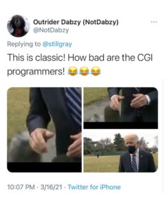 Read more about the article FAKE NEWS ALERT: How bad are Joe Biden's CGI programmer!