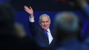 Israeli election: Netanyahu short of majority with 87% of vote counted. My repor