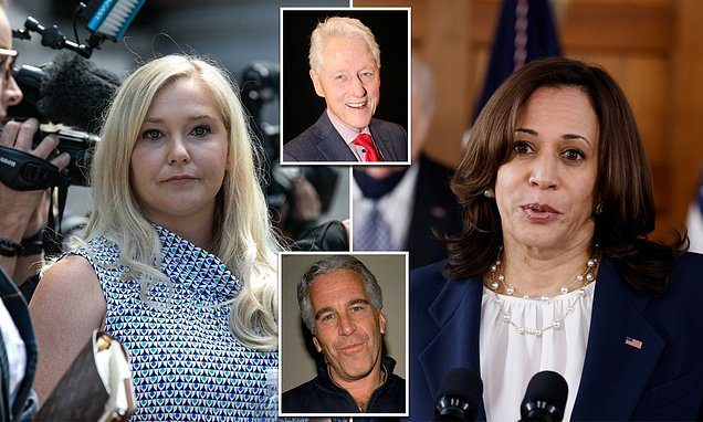 You are currently viewing Epstein victim Virginia Giuffre attacks Kamala Harris for meeting Clinton to tal