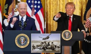 Read more about the article Biden says it will be 'hard to meet' May 1 deadline negotiated by Trump for with