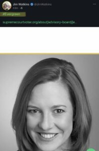 Read more about the article Peep this..  So, Jen Psaki is the founder of an Evergreen Consulting firm.