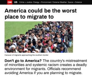 Read more about the article America could be the worst place to migrate too – CNN