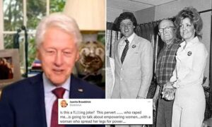 Bill Clinton's rape accuser Juanita Broaddrick brands ex-president's talk on 'wo