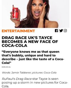 Read more about the article Enjoy a Coca-Cola today  >>