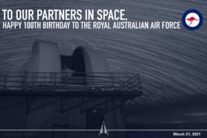 Read more about the article Happy 100th birthday to our @AusAirForce friends! We are grateful for your decad