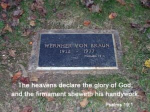 Maybe the same thing Von Braun meant by this?