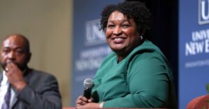 Georgia Democrat Stacey Abrams says boycotts over new voting laws not yet necessary