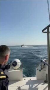 Read more about the article BREAKING  Turkish gunboat enters Greece's territorial waters and carries out dan