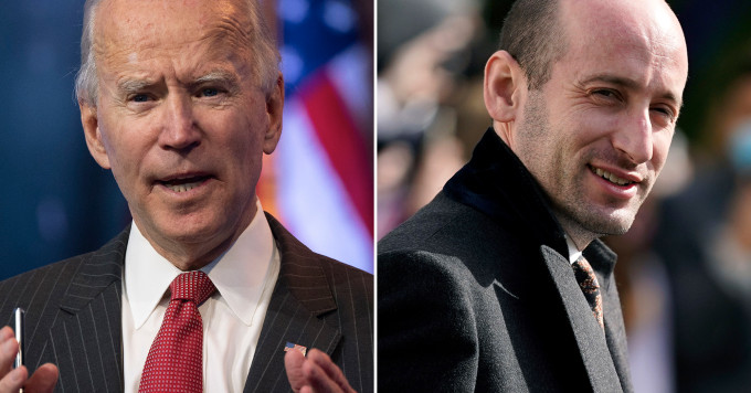 Based  Former Trump aide Stephen Miller launches group targeting Biden's polici