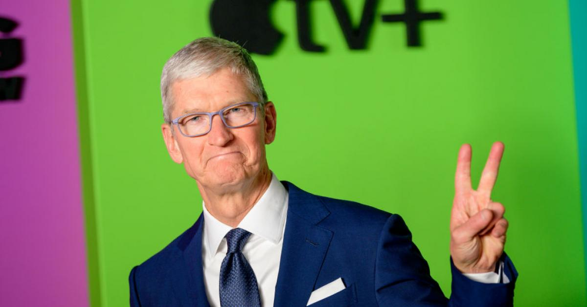 Apple CEO Tim Cook hopes Parler 'comes back' after company fixed content moderation