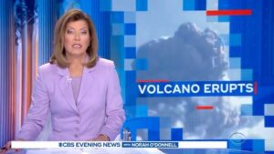 Caribbean Volcano Erupts, But 'Only Those Vaccinated Against COVID' Allowed to E