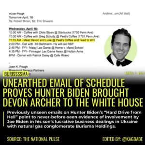 """Previously unseen e-mails on Hunter Biden's """"Hard Drive from Hell"""" point to neve"""