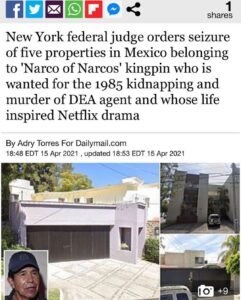 Read more about the article New York federal judge orders seizure of five properties in Mexico belonging to