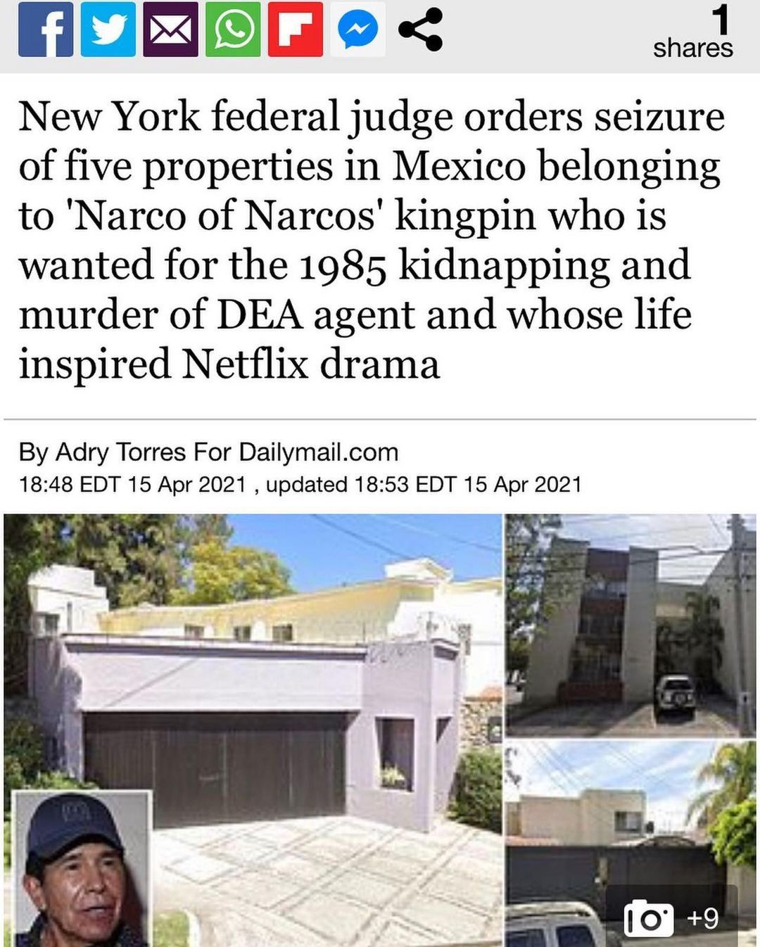 You are currently viewing New York federal judge orders seizure of five properties in Mexico belonging to