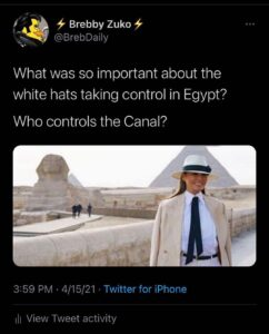 Write a caption… What was so important about the white hats taking control in